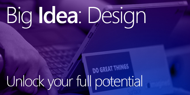 2016 Big Idea: Design Challenge