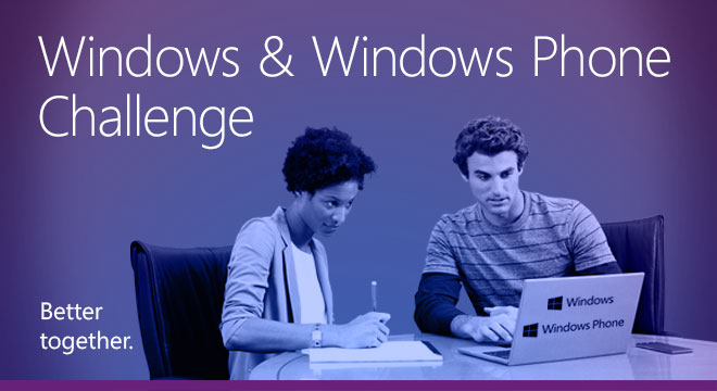 Windows & Windows Phone Challenge